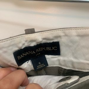 Banana Republic Shorts - Grey Khaki Shorts - Size 6